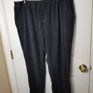 Liz & me 1x petite black pants